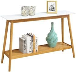 minimalist mid century modern living Room Furniture - Convenience Console Table