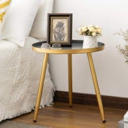 minimalist mid century modern living Room Furniture - Metal End Table