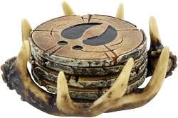 Antler Drink Coaster (1)