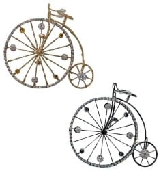 Bicycle Jeweled Christmas Ornaments (1)