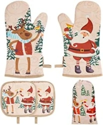 Christmas Oven Mitt