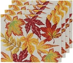 Thanksgiving Woven Placemats