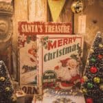 vintage christmas decorations - Featured