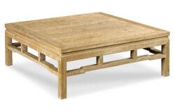 Modern Ming Coffee Table, Limewash