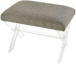Sterling Home Knoxx bench, Gray